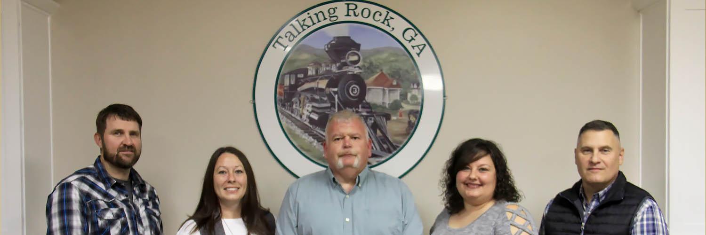 Talking Rock Mayor and Council